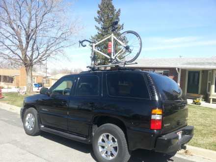 Good for holding your bikes on your car
