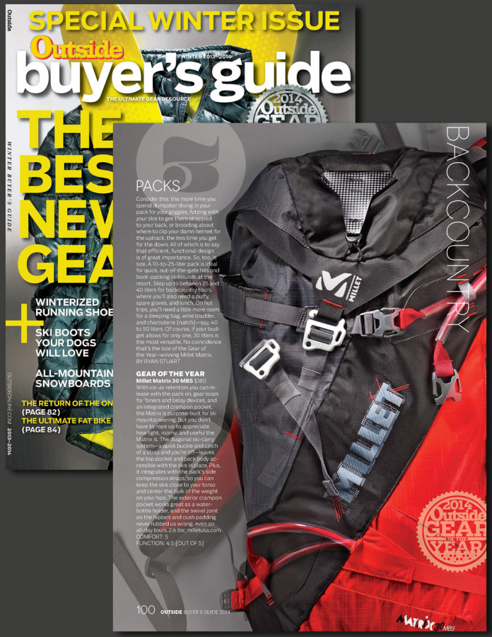 Outside Magazine Gear of the Year