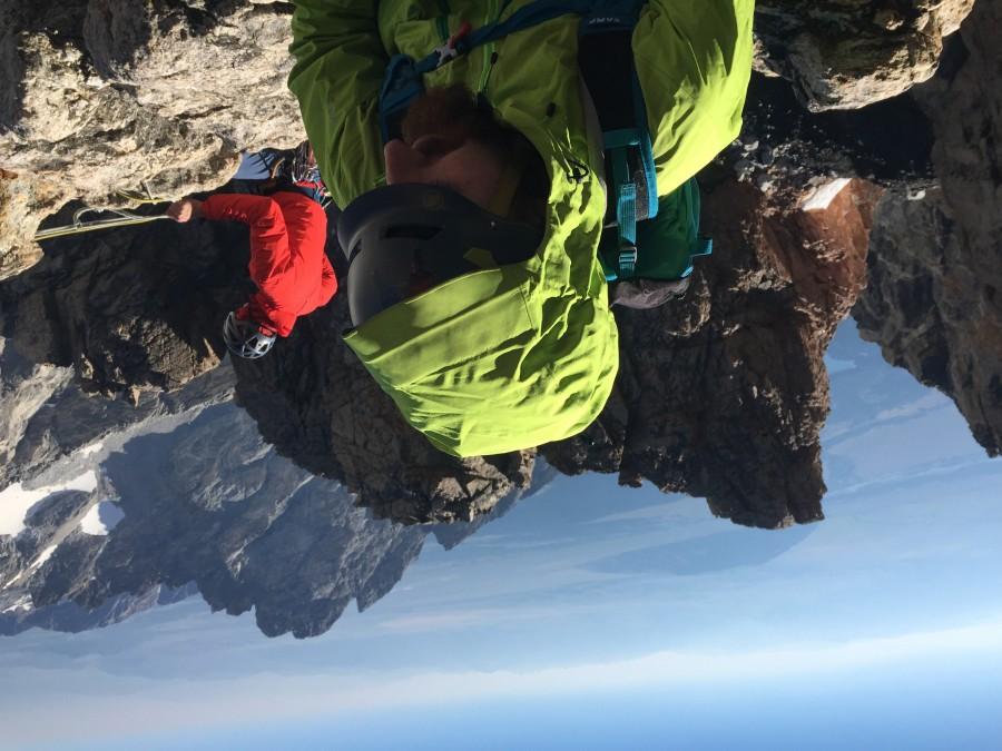 El Cap on Petzoldt Ridge GTNP
