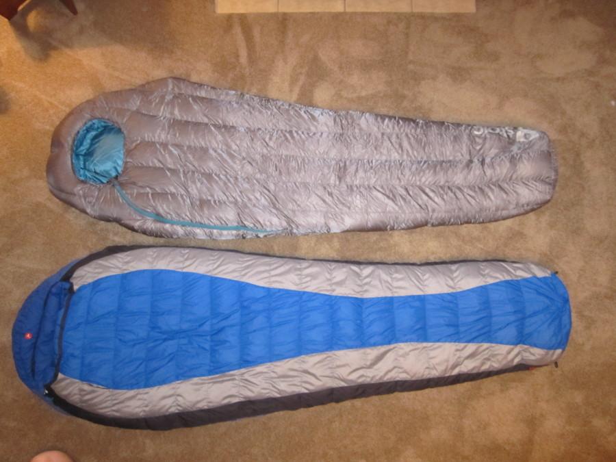 Somnus 15 Long vs. Marmot Sawtooth Long