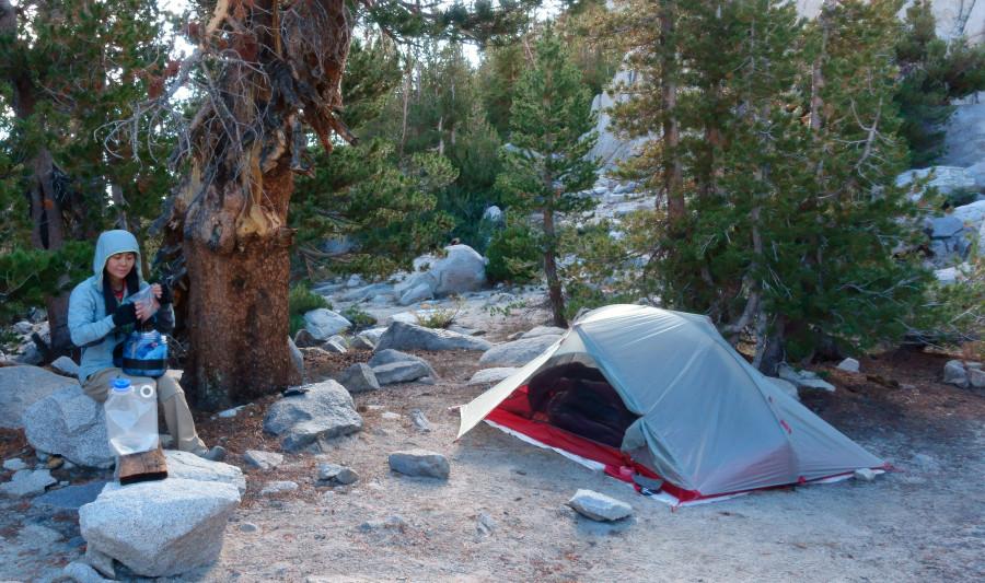 A well designed ultralight tent