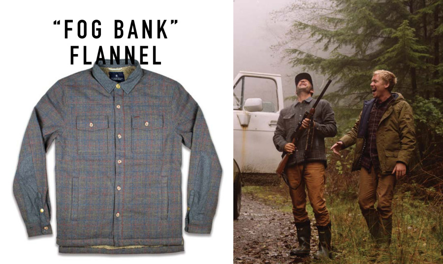 Fog Bank Flannel