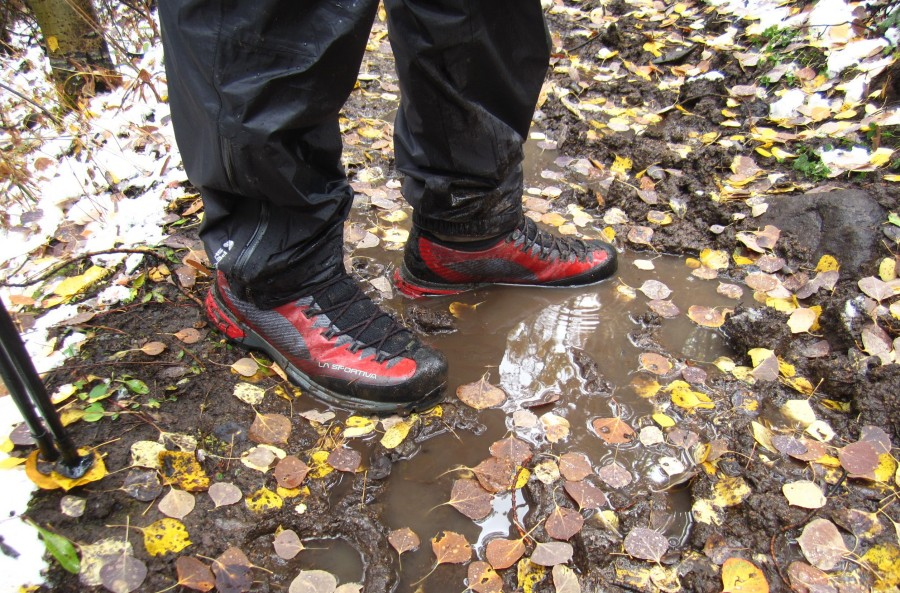 Trango TRK GTX Waterproofness Proved