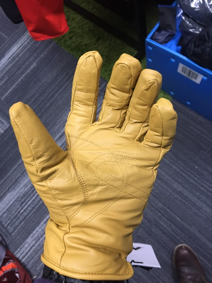 Basin and Range Leather Work Glove Palm!