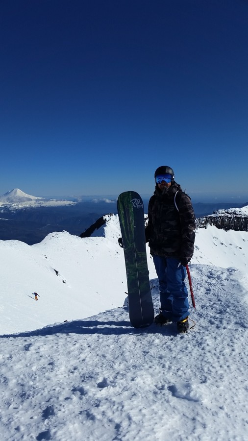 Summiting Volcanoes in Chile