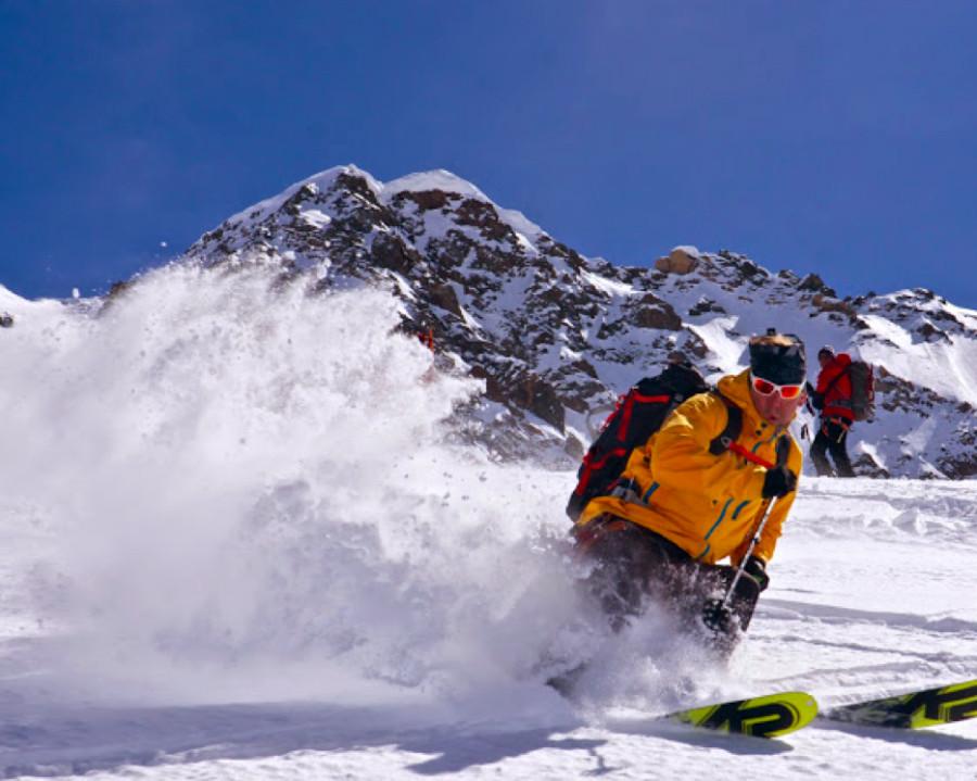 BC Ski with Julbo