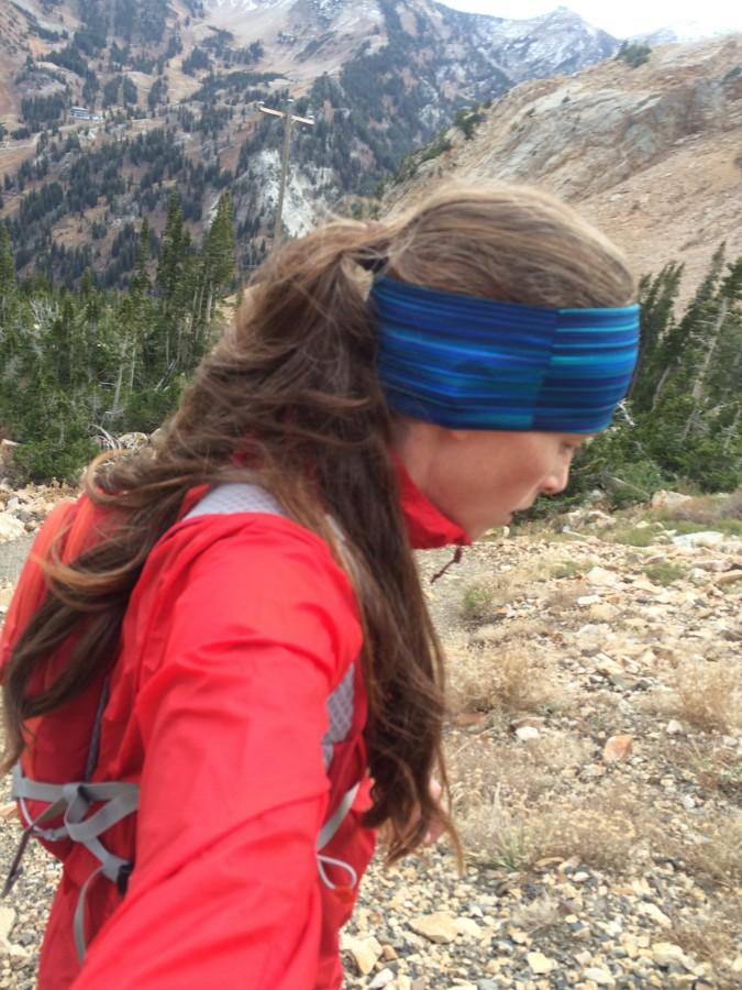 Perfect running, climbing jacket