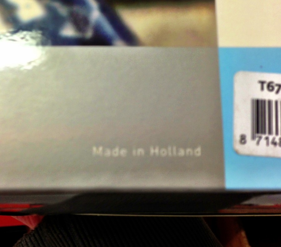 This Cage Is Made In Holland