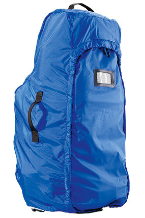 Rain cover converts to transport duffel