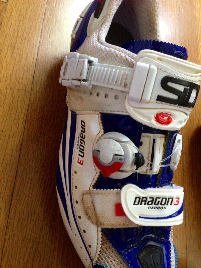 Sidi Dragon 3 Attachment System