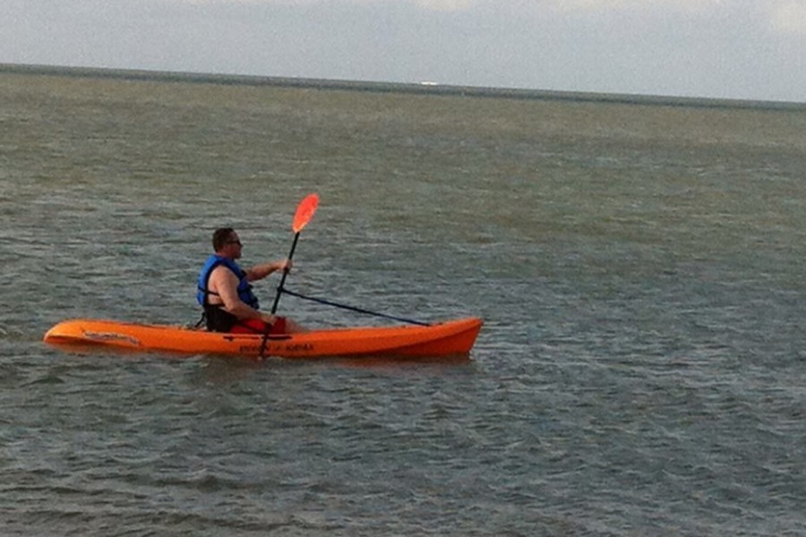 Fun in surf and flat water