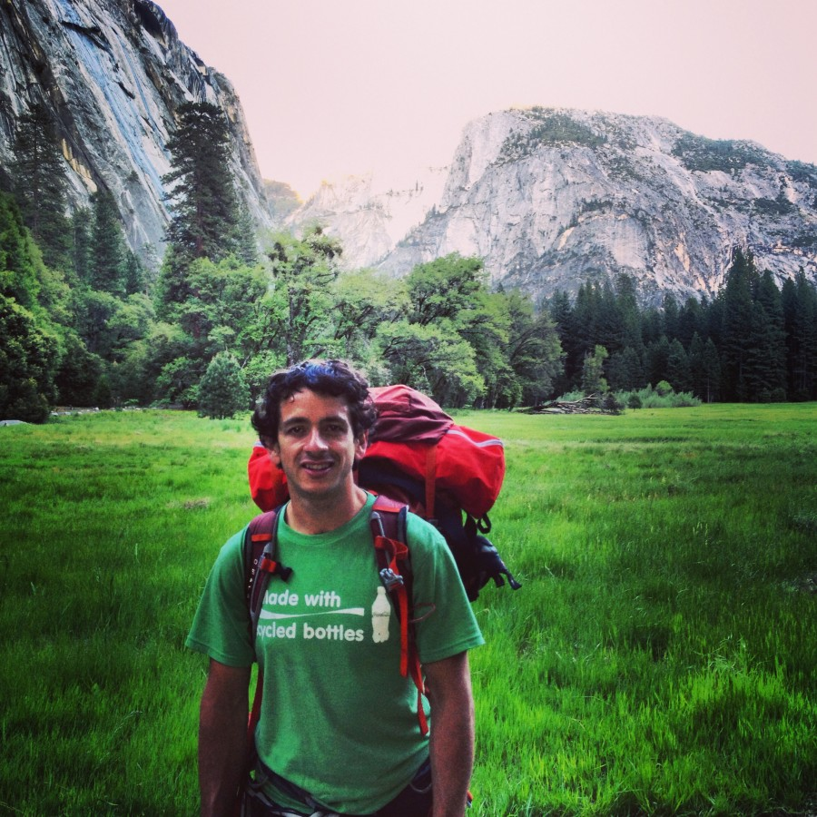 Me and Osprey Packs at Yosemite