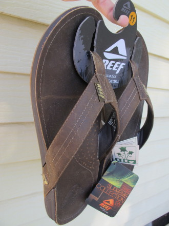 Reef J-Bay Sandals Are Pretty Tight