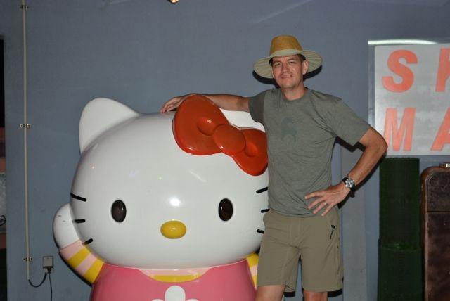 Shorts and Hello Kitty