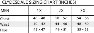 Correct Size Chart