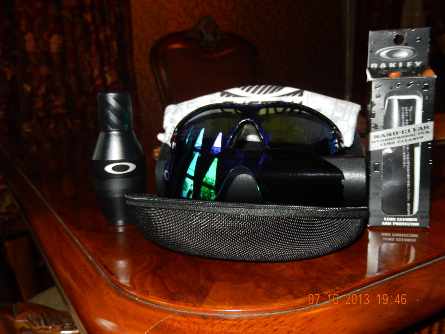 Radar Path & Oakley Hydrophobic cleaner