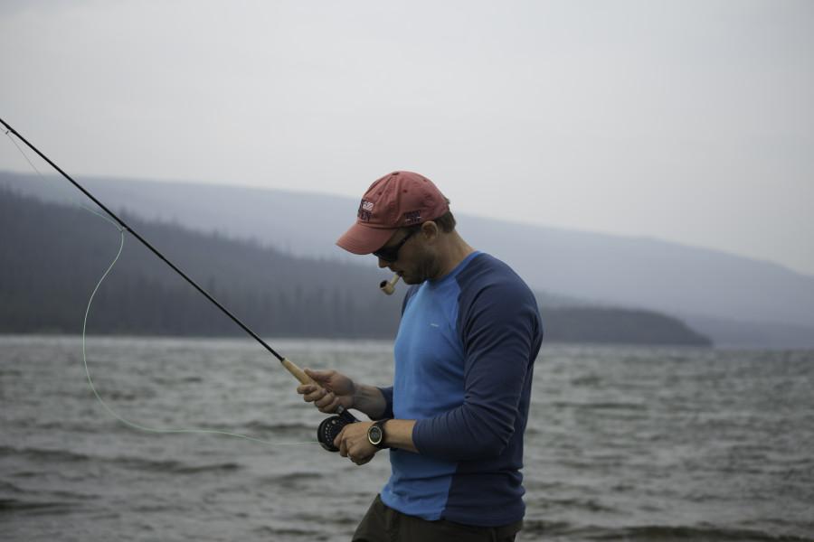 fishing at altitude