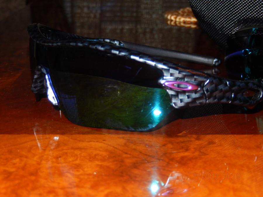 Violet Iridium & 'Carbon' frames
