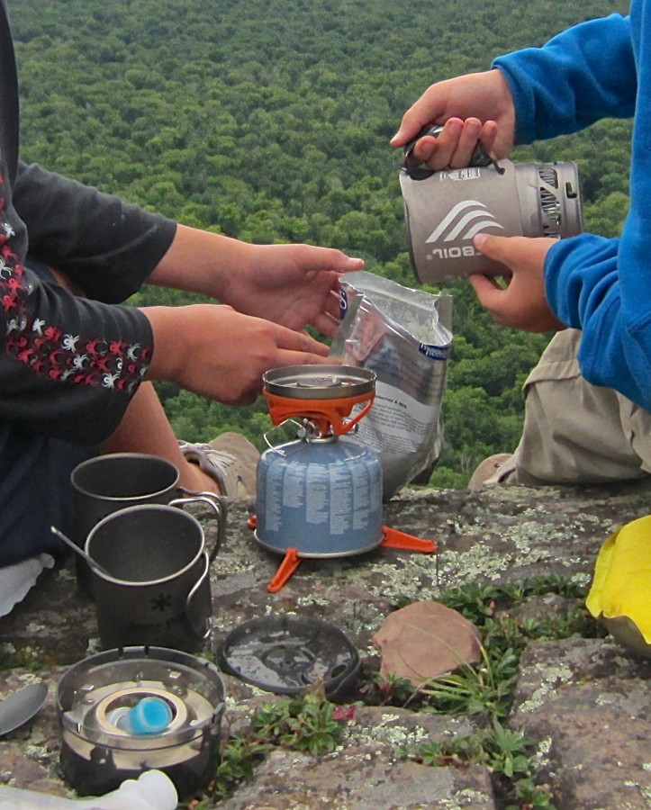 Jetboil Sol Titanium...Awesome!