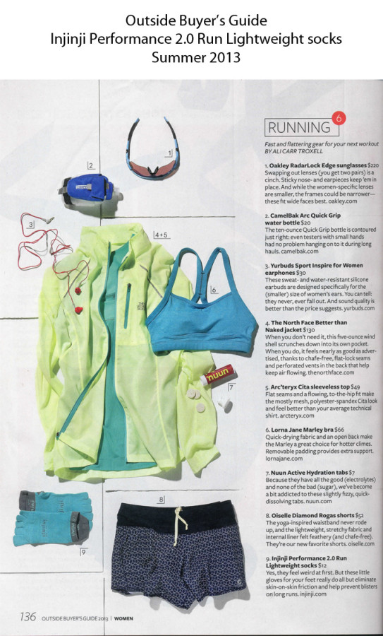 Outside Magazine Summer Buyers Guide