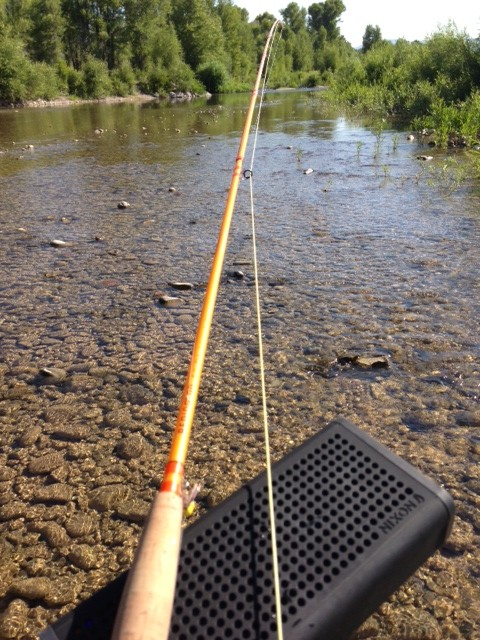 Fly Fishing to Queens Of The Stoneage