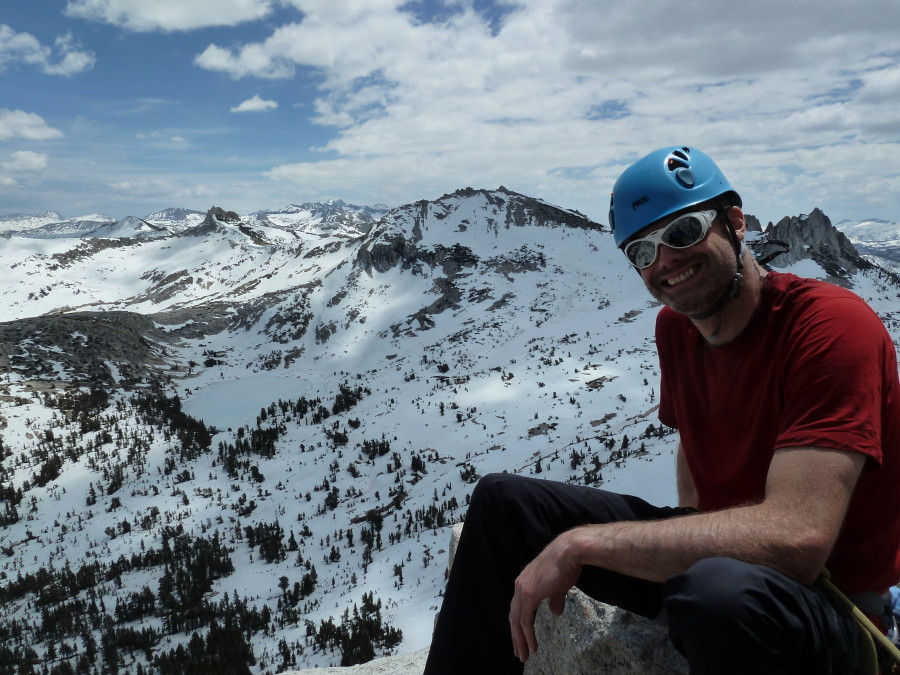 Atop Cathedral Peak