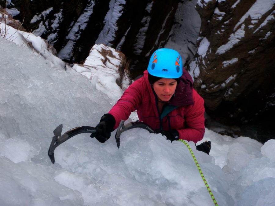 Great ice climbing softshell