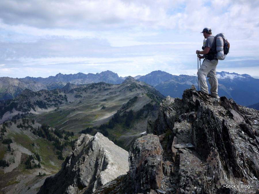 Silver Ridge pants @ Sentinel Peak (ONP)