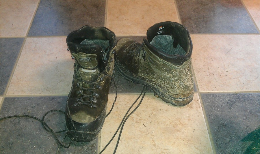 Perfect backpacking boots