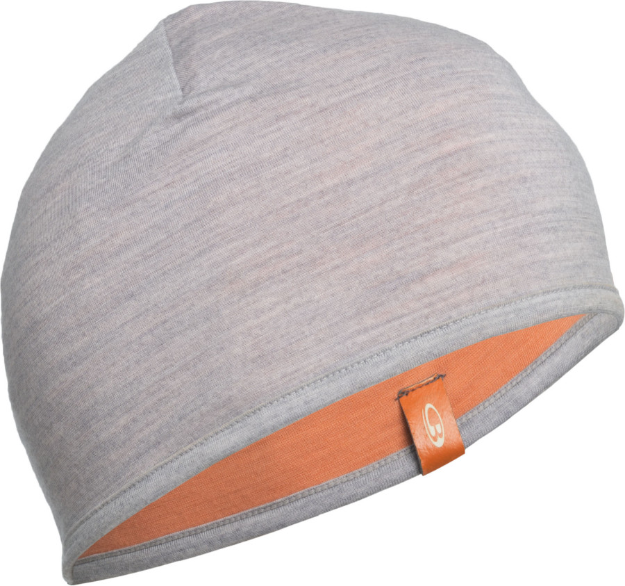 Pocket Beanie Blizzard/Peach combo