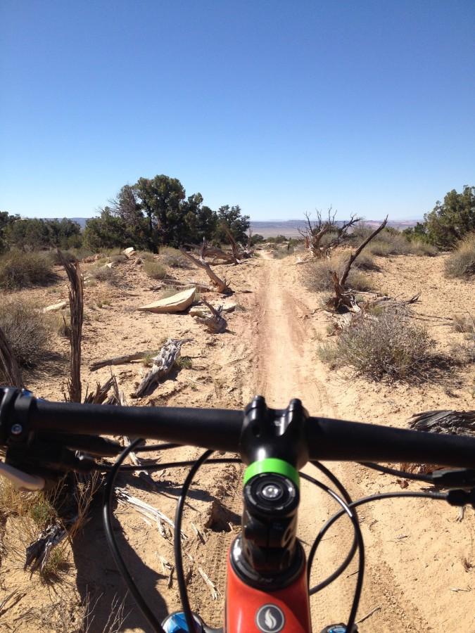 Hot Bike on a Cold Trail