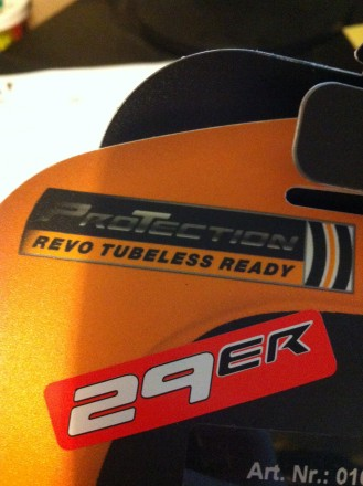 These Are Revo Tubeless Ready