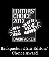 Backpacker Magazine EDITOR'S CHOICE