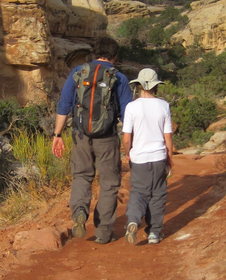 Hiking with the Fulcrum in Capitol Reef