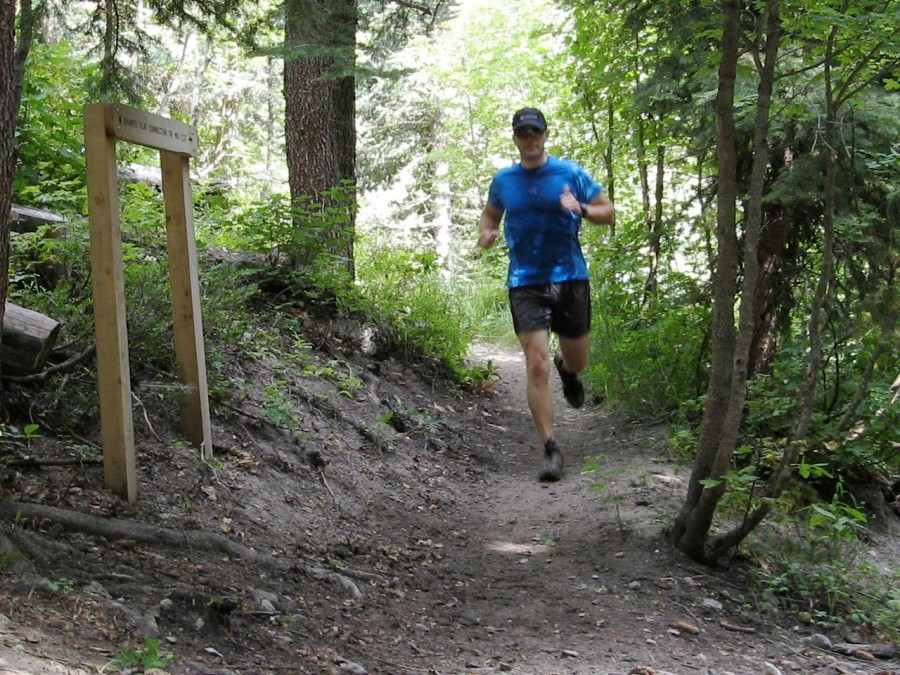 Trail Running in American Fork Canyon, UT