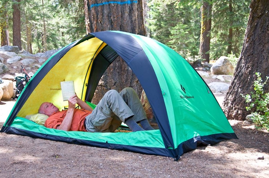 My Second Ahwahnee Tent