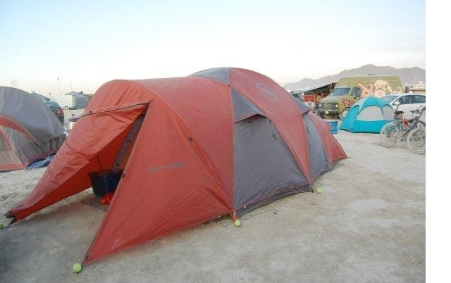 Big Agnes Flying Diamond on the Playa