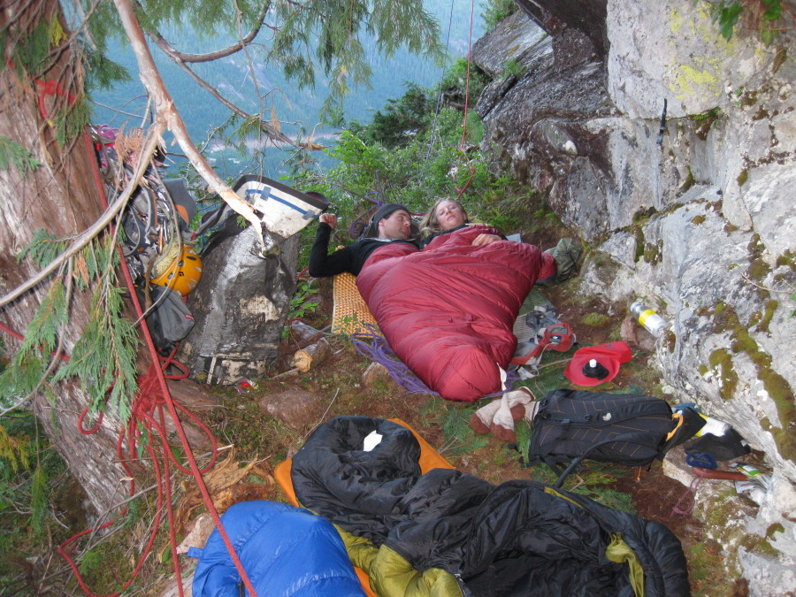 Bivy at Pitch 15