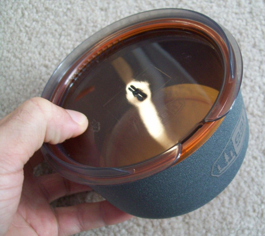 lid on bowl