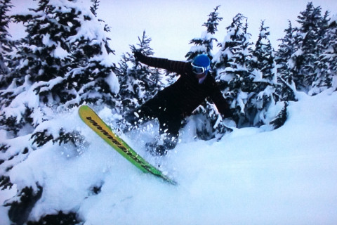 Is that a Banana between your legs, or are you just happy to see the powder?