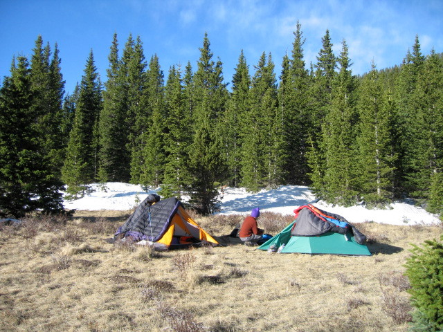 Pecos wilderness camp