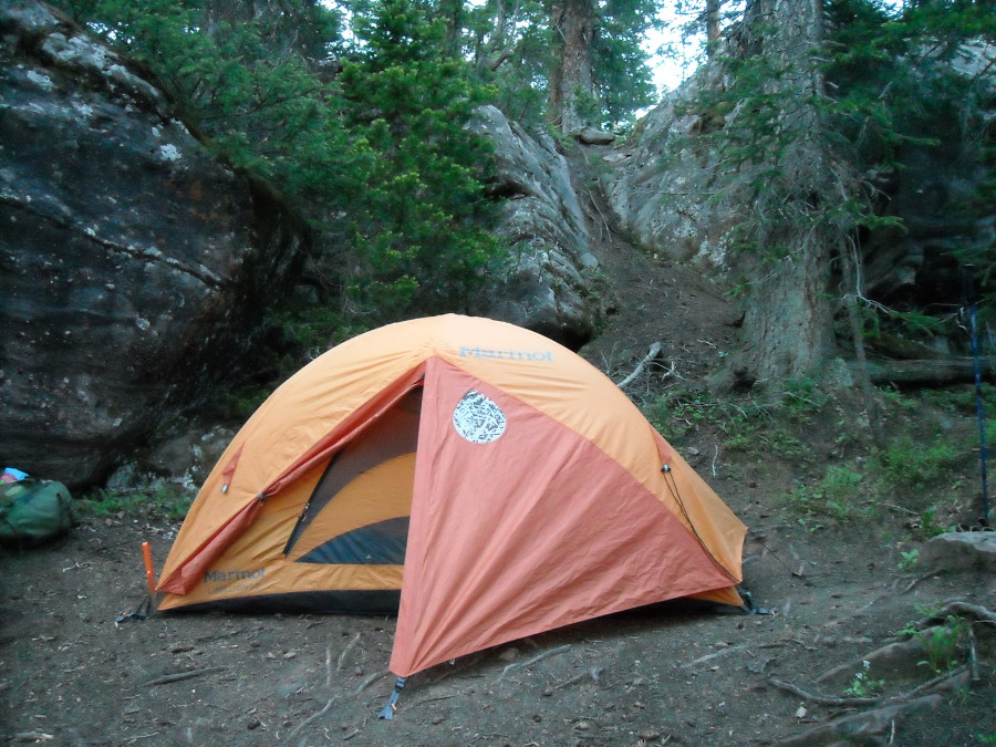 Camping in the Maroon Bells
