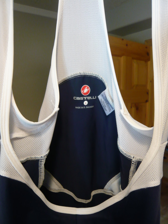 Castelli Podium Collection - Ganna Navy Bibshort