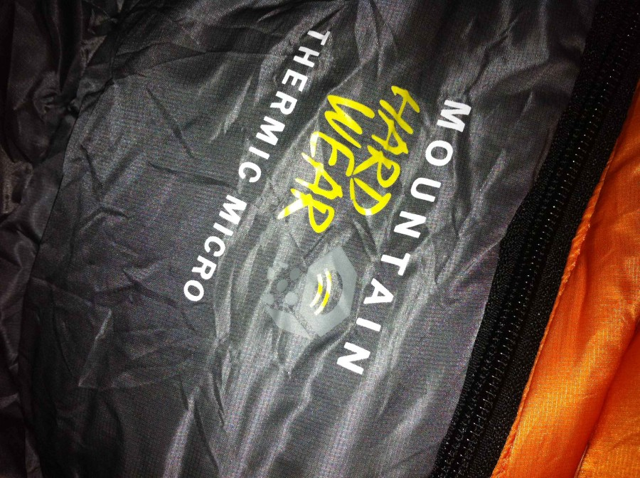 logo on the bag