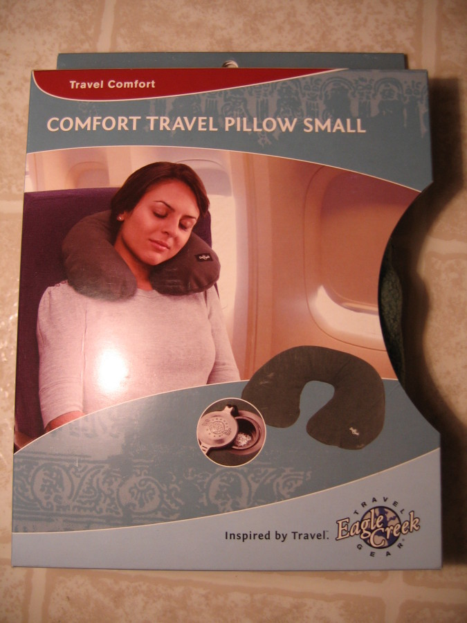 Eagle Creek Comfort Travel Pillow Packaging