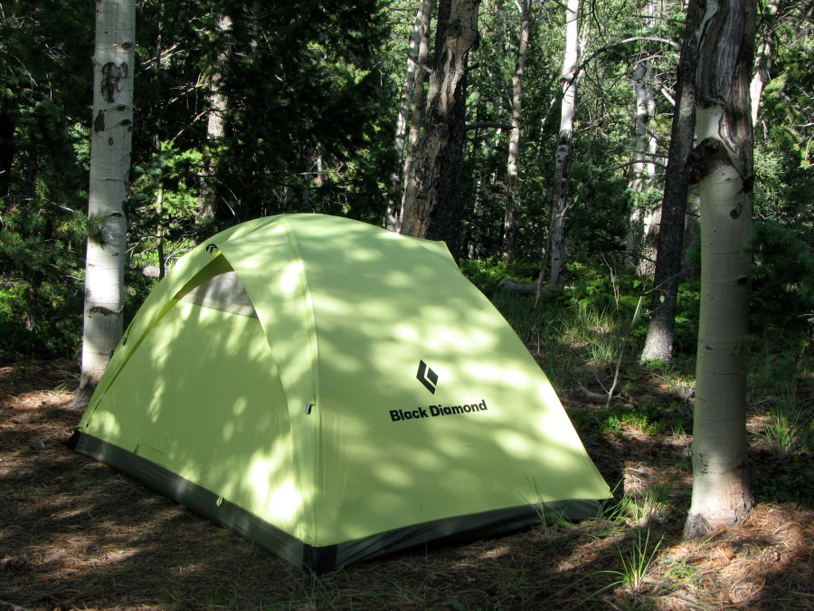 Hilight Tent in Pike National Forest, CO