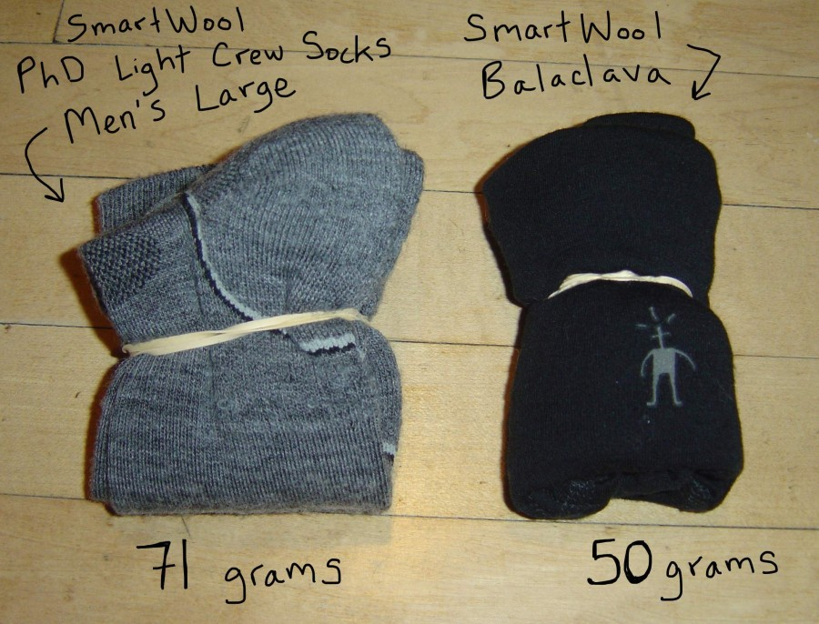 SmartWool Sock vs Balaclava comparison
