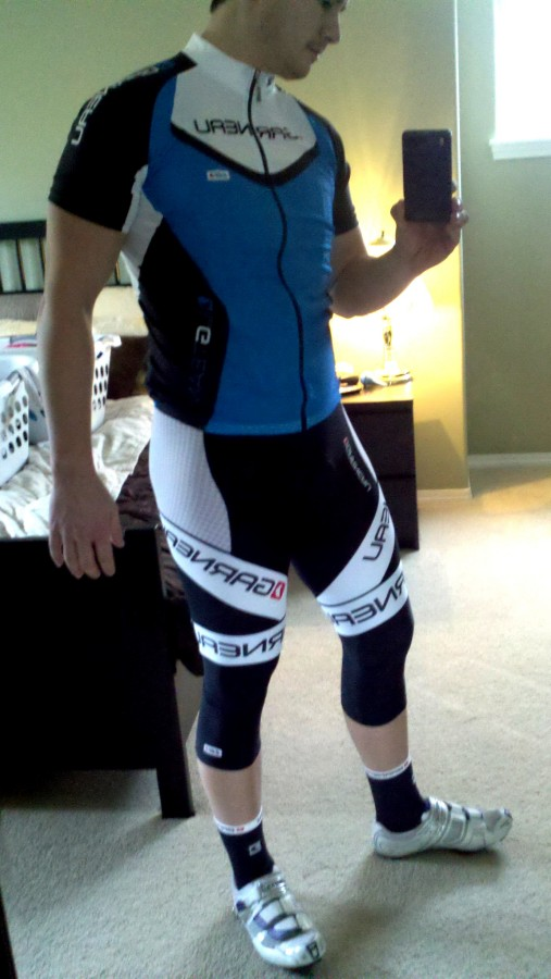 LG mondo bib shorts for the win!