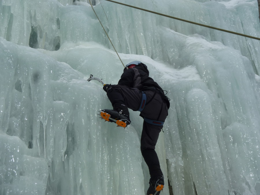 Ice Climbing in NH