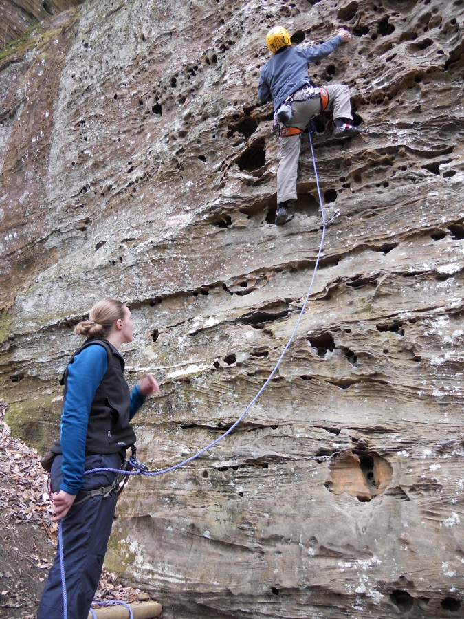 Mammut rope @ Red River Gorge, KY